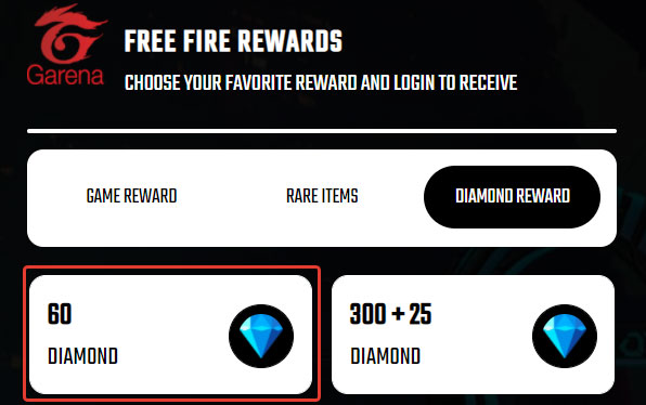 Выберите количество алмазов